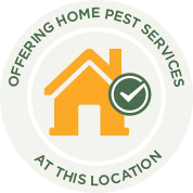Offering Home Pest Services Badge